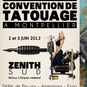 2 et 3 juin 2012 @ 1er Convention de tattoo de Montpellier