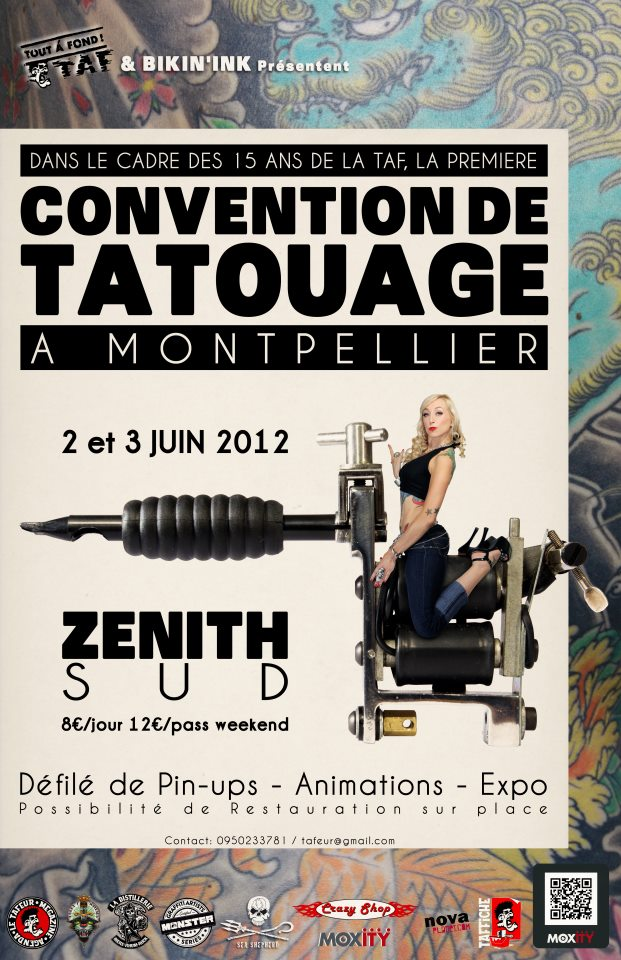 Tattoo convention Montpellier