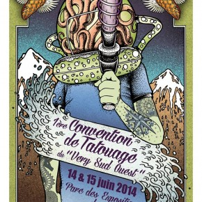 14 & 15 JUIN - VERY SUD OUEST TATTOO CONVENTION