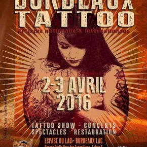 CONVENTION TATTOO DE BORDEAUX