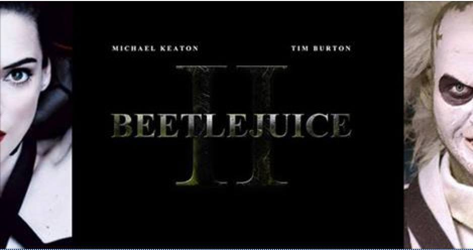 BEETLEJUICE 2 !!!!!   ... Alec Baldwin
