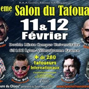 20ème Convention de tatouage et de Piercing de Lyon