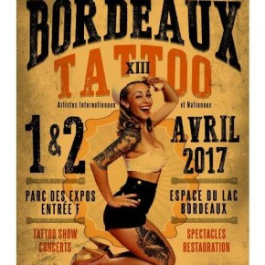 Convention Tattoo de Bordeaux 2017
