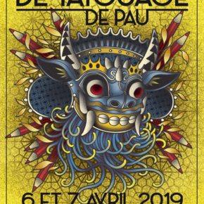 Convention tattoo de Pau 2019