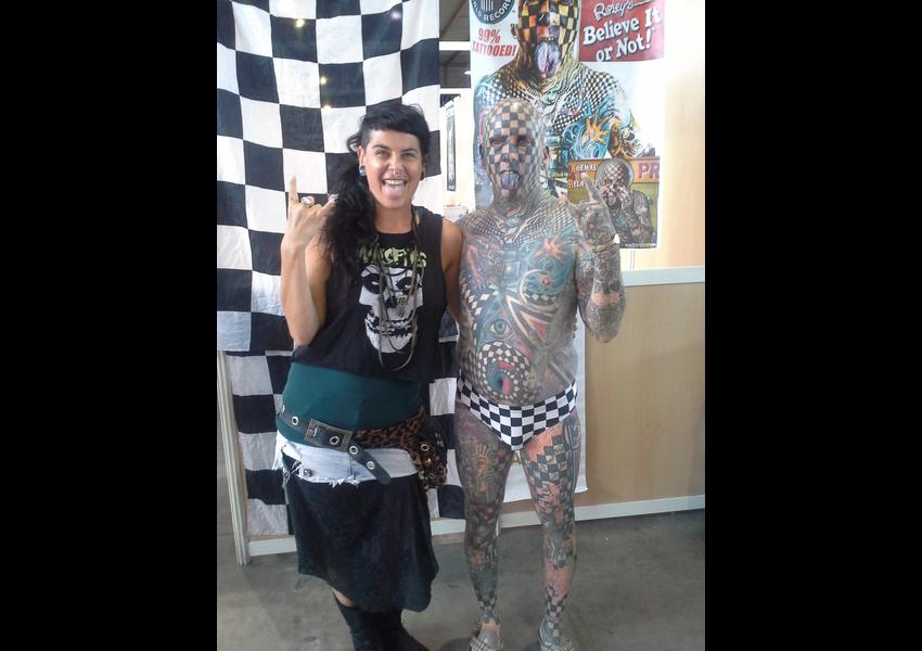 Virée à Nîmes ! EXPO DE OUF & COnvention de Tatouage de Nîmes ! Matt Gone !!!