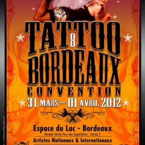 31 Mars &1er Avril 2012 @ Convention de tatouage de Bordeaux