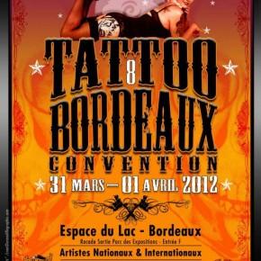 31 Mars &1er Avril 2012 @ Convention de tatouage de Bordeaux