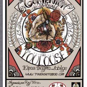 12 et 13 Janvier 2013 - Convention de tatouage de Toulouse