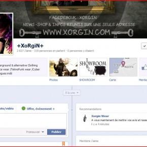 Recommandations sur la page facebook de XoRgiN