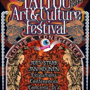 TATTOO ART ET CHAMANISME // CONVENTION TATTOO MONTREUIL OCT.2015