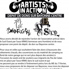 ARTIST IN ACTION SUD OUEST