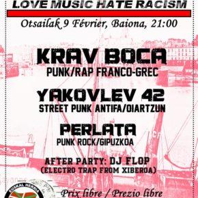 Love Music Hate Racism #1